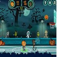 Halloween Basketball Legends Play