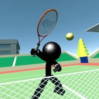 Stickman Tennis 3D Play
