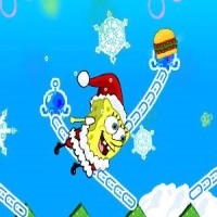 Swinging SpongeBob Xmas Play