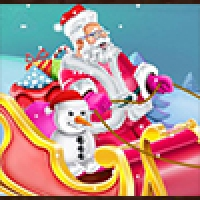 Design Santa Sleigh Play