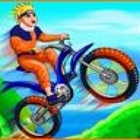 Naruto BMX Challange Play