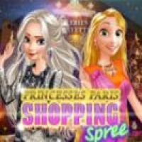 Princesses Paris Shopping Spree Play