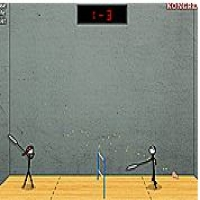 Stick Figure Badminton II  Play